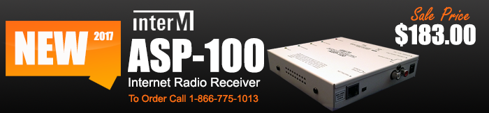 ASP-100 Internet Radio Receiver